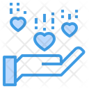 Reciept Love Love Care Icon