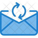 Exchnage Mail Share Mail Transfer Email Icon