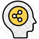 Share Mind Lateral Thinking Memory Share Icon