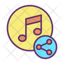 Ishare Music Share Music Share Song Icon