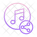 Share Music Icon