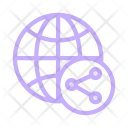 Share Global Network Icon