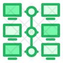 Share Network Connected Icon