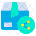 Share Box Package Icon