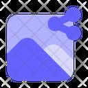 Share-picture Icon