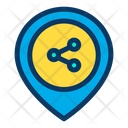 Share Location Share Place Placeholder Icon