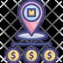 Share Profit Money Positioning Icon