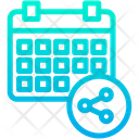 Share Schedule Icon