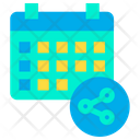 Share Schedule Icon
