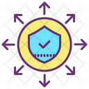 Share Security Network Sharing Security Security Network Icon
