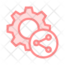 Share Network Connect Icon