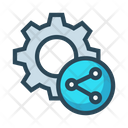 Share Network Setting Icon