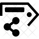 Share Tag Label Icon