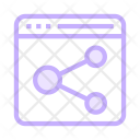 Share Connect Network Icon