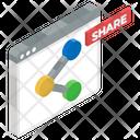 Share Website Viral Website Share Blogpost Icon
