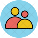 Shared Persons Users Icon