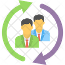 Shared Business Business Management Employee Training Icon