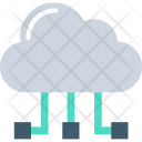 Shared Cloud Icon