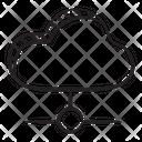 Shared Cloud Cloud Network Cloud Computing Icon