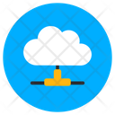 Cloud Network Shared Cloud Cloud Hosting Icon
