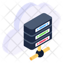 Cloud Server Shared Cloud Server Shared Hosting Icon