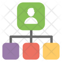 Shared Connection Networking Icon