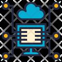 Shared Service Computer Icon
