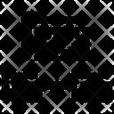 Shared Data Folder Folder Network File Icon