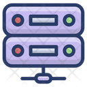 Shared Data Server Data Server Network Data Server Structure Icon