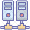 Shared Database Server Racks Database Server Icon