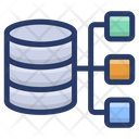 Shared Database Hosting Shared Server Sql Database Icon