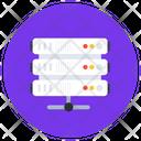 Shared Dataserver Dataserver Network Data Storage Icon