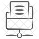 Shared Directory Network Folder Network Archive Icon