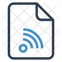 Wifi Document Documentation Icon
