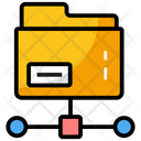 Data Access Information Sharing Shared Folder Icon