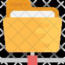 Network Folder Information Icon