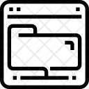 Folder Share Data Icon