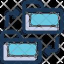 Shared Folder Folders Data Sharing Icon