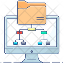 Shared Folder Folder Network Folder Infrastructure Icon