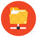 Shared Folder Network Folder Information Sharing Icon