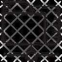 Network Folder Shared Folder Shared Data Icon