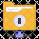 Folder Access Shared Folder Folder Network Icon