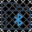 Shared Folder Bluetooth Icon
