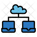 Shared Hosting Cloud Hosting Icon
