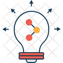 Shared Idea Idea With Share Light Icon
