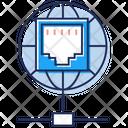 Shared Network Information Sharing Data Sharing Icon