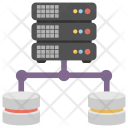 Shared Server Networking Icon