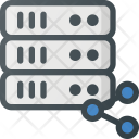 Server Communication Signal Icon