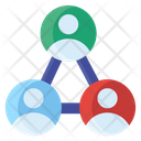Shared Users Sharing Information User Interlink Icon