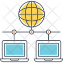 Shared Web Hosting Icon